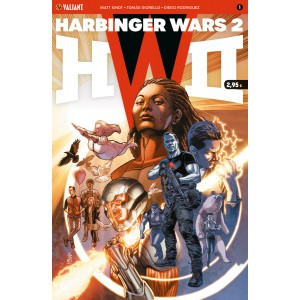 Harbinger Wars 2 nº 01
