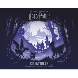 Harry Potter: Criaturas, un álbum de escenas de papel