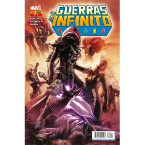 Héroes Marvel - Guerras del Infinito nº 01