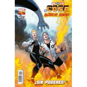 Héroes Marvel - Marvel 2 en uno: La Cosa y la Antorcha Humana nº 09