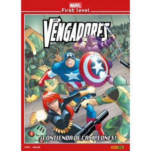 Marvel First Level nº 06: Los Vengadores: ¡Contienda de campeones!