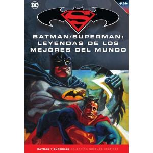 Batman y Superman - Colección Novelas Gráficas nº 52: Batman/Superman: Leyendas de los mejores del mundo