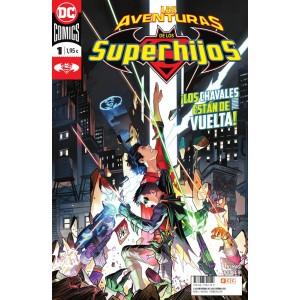 Las aventuras de los Superhijos nº 01