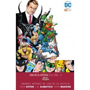 Grandes autores de la Liga de la Justicia: Keith Giffen, J.M. Dematteis y Kevin Maguire - LJI nº 02