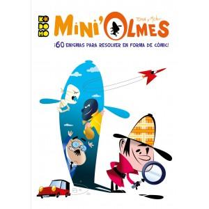 Mini'Olmes: ¡60 enigmas en forma de cómic para resolver!