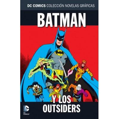 Colección novelas gráficas nº 73: Batman y los Outsiders