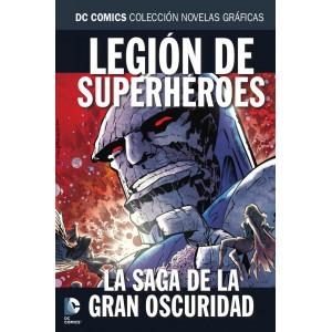 Colección novelas gráficas nº 74: Legión de superhéroes: La saga de la gran oscuridad