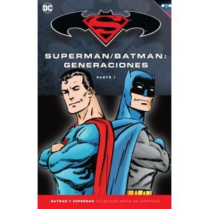 Batman y Superman - Colección Novelas Gráficas nº 53: Batman/Superman: Generaciones (Parte 1)