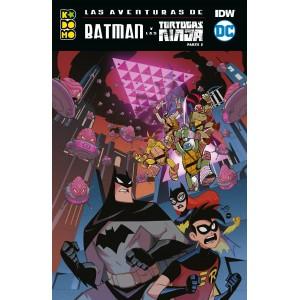 Las aventuras de Batman y las Tortugas Ninja nº 02 (Recopilatorio)