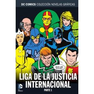 Colección novelas gráficas nº 76: Liga de la Justicia Internacional (Parte 1)