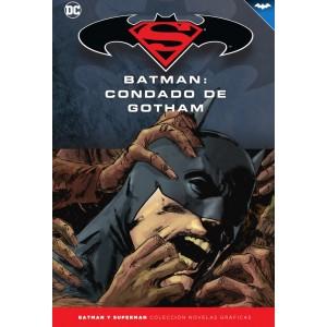 Batman y Superman - Colección Novelas Gráficas nº 56: Batman: Condado de Gotham