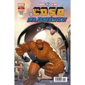 Héroes Marvel - Marvel 2 en uno: La Cosa y ¡Mr. Fantástico! nº 11