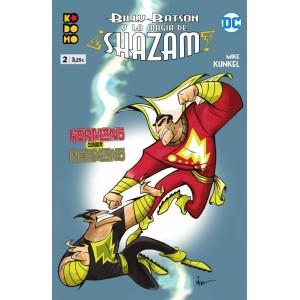 Billy Batson y la magia de Shazam nº 02