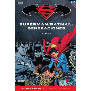 Batman y Superman - Colección Novelas Gráficas nº 54: Batman/Superman: Generaciones (Parte 3)