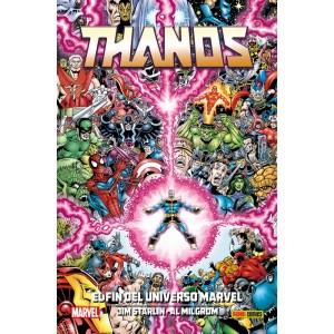 100% Marvel HC. Thanos: El fin del universo Marvel