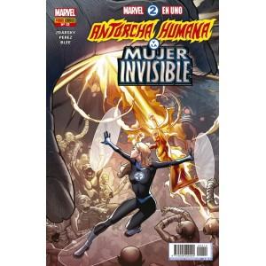 Héroes Marvel - Marvel 2 en uno: Antorcha Humana y la Mujer Invisible nº 12