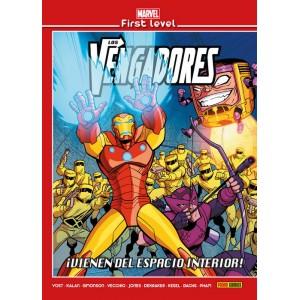 Marvel First Level nº 12: Los Vengadores: ¡Vienen del espacio interior!
