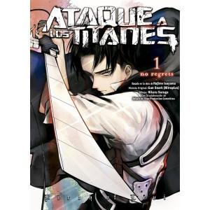 Ataque a los Titanes: No Regrets (Edición a color) nº 01