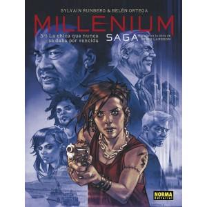 Millenium Saga nº 03: La chica que nunca se daba por vencida