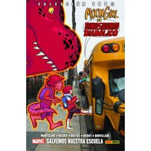 100% Marvel HC. Moon Girl y Dinosaurio Diabólico nº 06