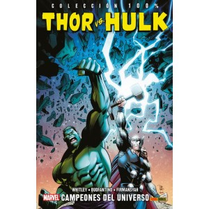 100% Marvel. Thor Vs. Hulk: Campeones del universo