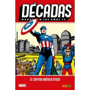 Décadas. Marvel en los años 50: ¡El Capitán América ataca!