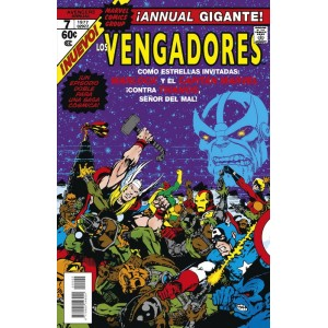 Marvel Facsímil nº 04: The Avengers Annual nº 07