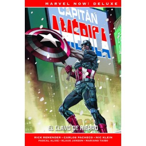 Marvel Now! Deluxe. Capitán América de Rick Remender nº 02