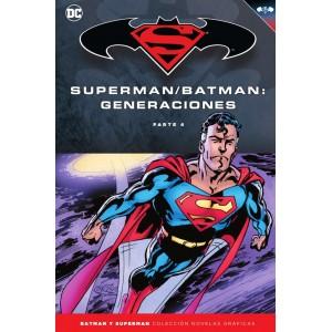 Batman y Superman - Colección Novelas Gráficas nº 60: Batman/Superman: Generaciones nº 04