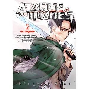Ataque a los Titanes: No Regrets (Edición a color) nº 02