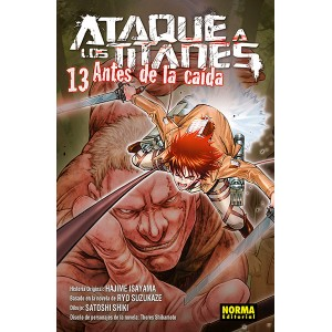 Ataque a los Titanes: Antes de la Caída nº 13