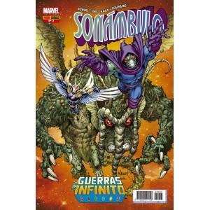 Héroes Marvel - Guerras del Infinito: Sonámbulo nº 02