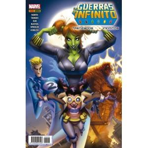 Héroes Marvel - Guerras del Infinito: Trenzados infinitos