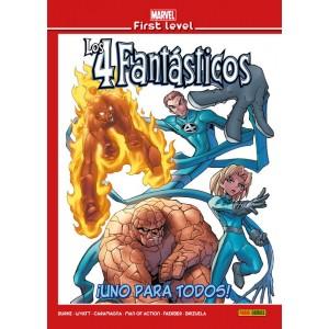 Marvel First Level nº 15: Los 4 Fantásticos: ¡Uno para todos!