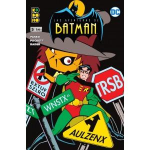 Las aventuras de Batman nº 05