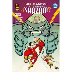 Billy Batson y la magia de Shazam nº 04