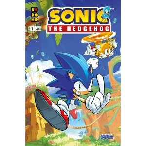 Sonic The Hedgehog nº 01