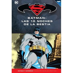 Batman y Superman - Colección Novelas Gráficas nº 62: Batman: Las diez noches de la bestia