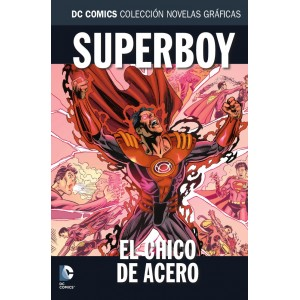 Colección novelas gráficas nº 82: Superboy: El chico de acero