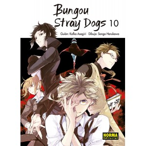 Bungou Stray Dogs nº 10