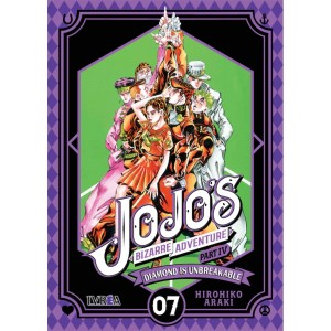JoJo's Bizarre Adventure Parte 04: Diamond is Unbreakable nº 07