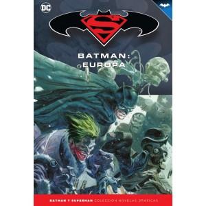 Batman y Superman - Colección Novelas Gráficas nº 64: Batman: Europa