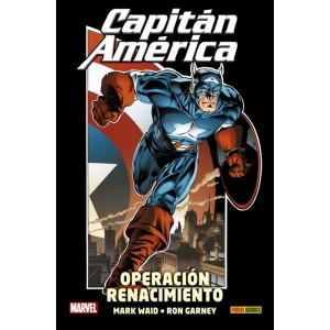 100% Marvel HC. Capitán América: Operación Renacimiento