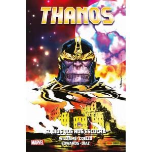 100% Marvel HC. Thanos: El dios que nos escucha