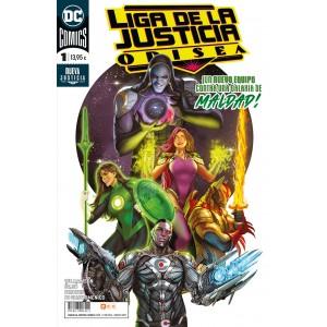 Liga de la Justicia: Odisea nº 01