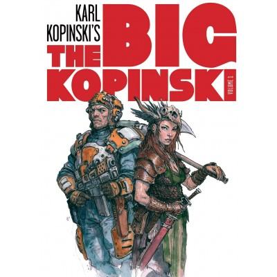 The Big Kopinski nº 01 - Sketchs e ilustraciones de Karl Kopinski