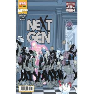 La era de Hombre-X: Next Gen nº 01