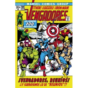 Marvel Facsímil nº 07: The Avengers nº 100