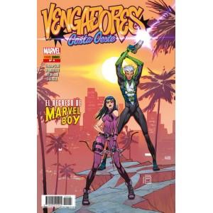 Héroes Marvel - Los Vengadores Costa Oeste nº 04