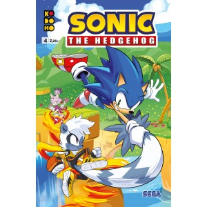 Sonic The Hedgehog nº 04
